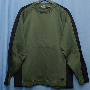 North Face Olive Sweater